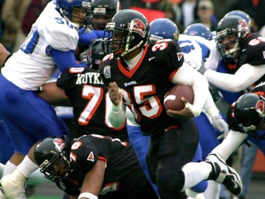 Oregon State running back Ken Simonton.