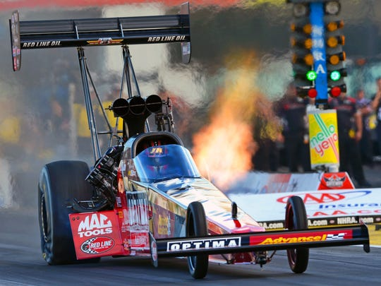 J.R. Todd got the call from Connie Kalitta to return