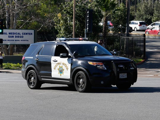 A Ford Interceptor SUV operated by the California Highway