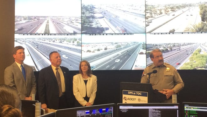 A three-year pilot program to improve safety and reduce traffic congestion on Valley freeways was announced Wednesday by officials of the Maricopa Association of Governments and ADOT.