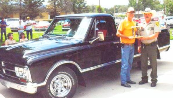 The Sheriff's Pick was won by Randy Lemke of Silver City in a recent Cruizers car show.