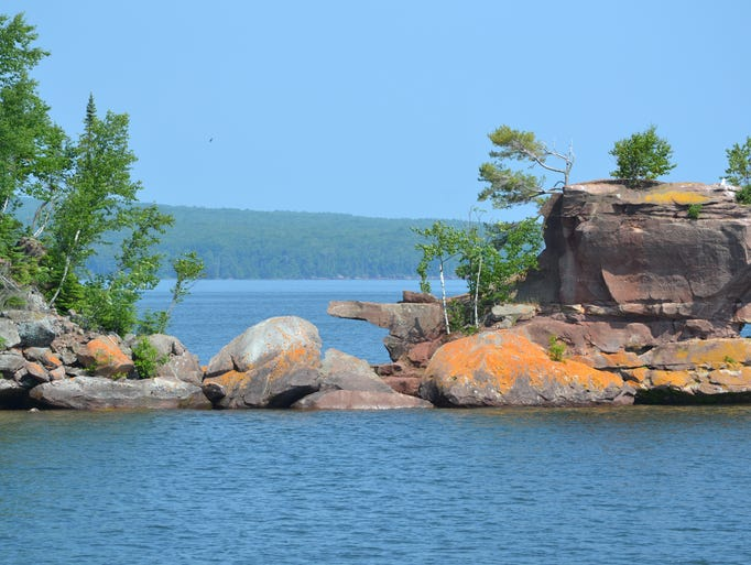 Mary Busch photographed one of the islands in Apostle Island National Lakeshore in July 2014.