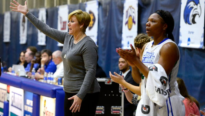 UWF women's coach Stephanie Yelton has her team ranked No. 17 in current NCAA Division II poll and in position to win GSC regular-season title.