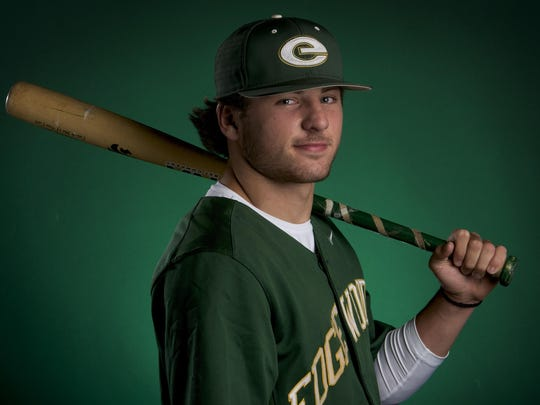 Edgewood's Jackson Tate is the AISA All-Metro baseball player of the year.