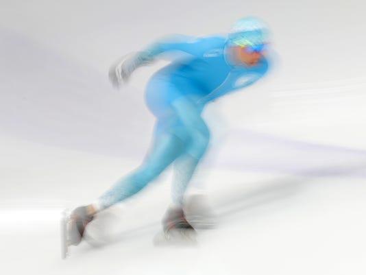 Olympics: Speed Skating-Mens 3000m