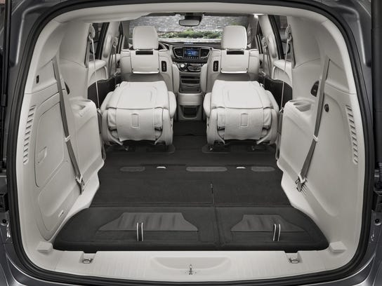 review pacifica minivan goes electric. Black Bedroom Furniture Sets. Home Design Ideas