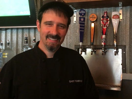 Chef Gary Pfenning runs the kitchen at Cork Soakers in Cape Coral.