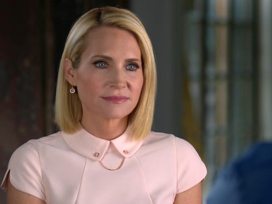 """""""Dateline NBC's"""" Andrea Canning does an interview."""