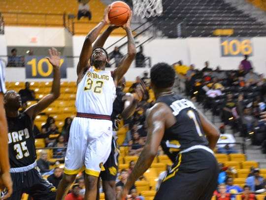 Grambling's DeVante Jackson had 19 points Thursday.