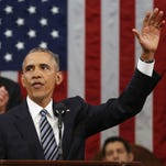 President Obama, here waving at his State of the Union address in January, will stress clean energy innovation in his budget on Tuesday.