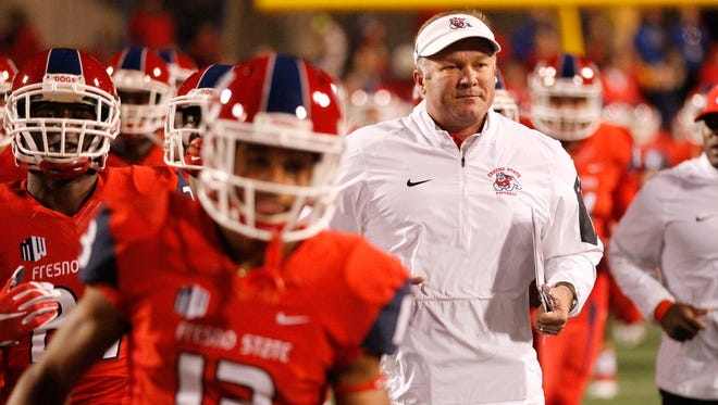 It's been a difficult season for Fresno State coach Tim DeRuyter and his players, who are 3-8 after playing in Mountain West title games in 2013 and 2014.