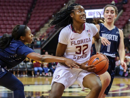 NCAA Women's Basketball:  Florida State 95 UNF 39