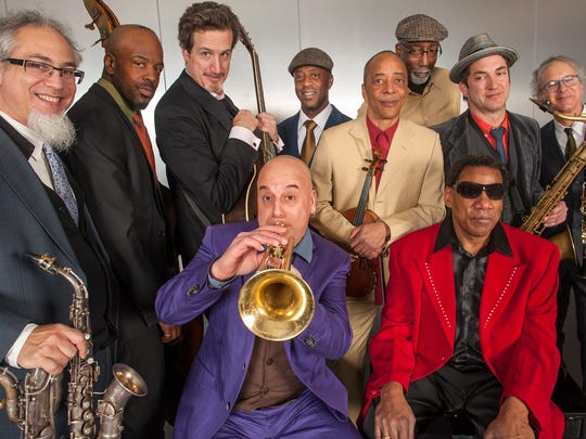 Henry Butler, Steven Bernstein and the Hot 9 perform