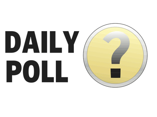 Daily poll