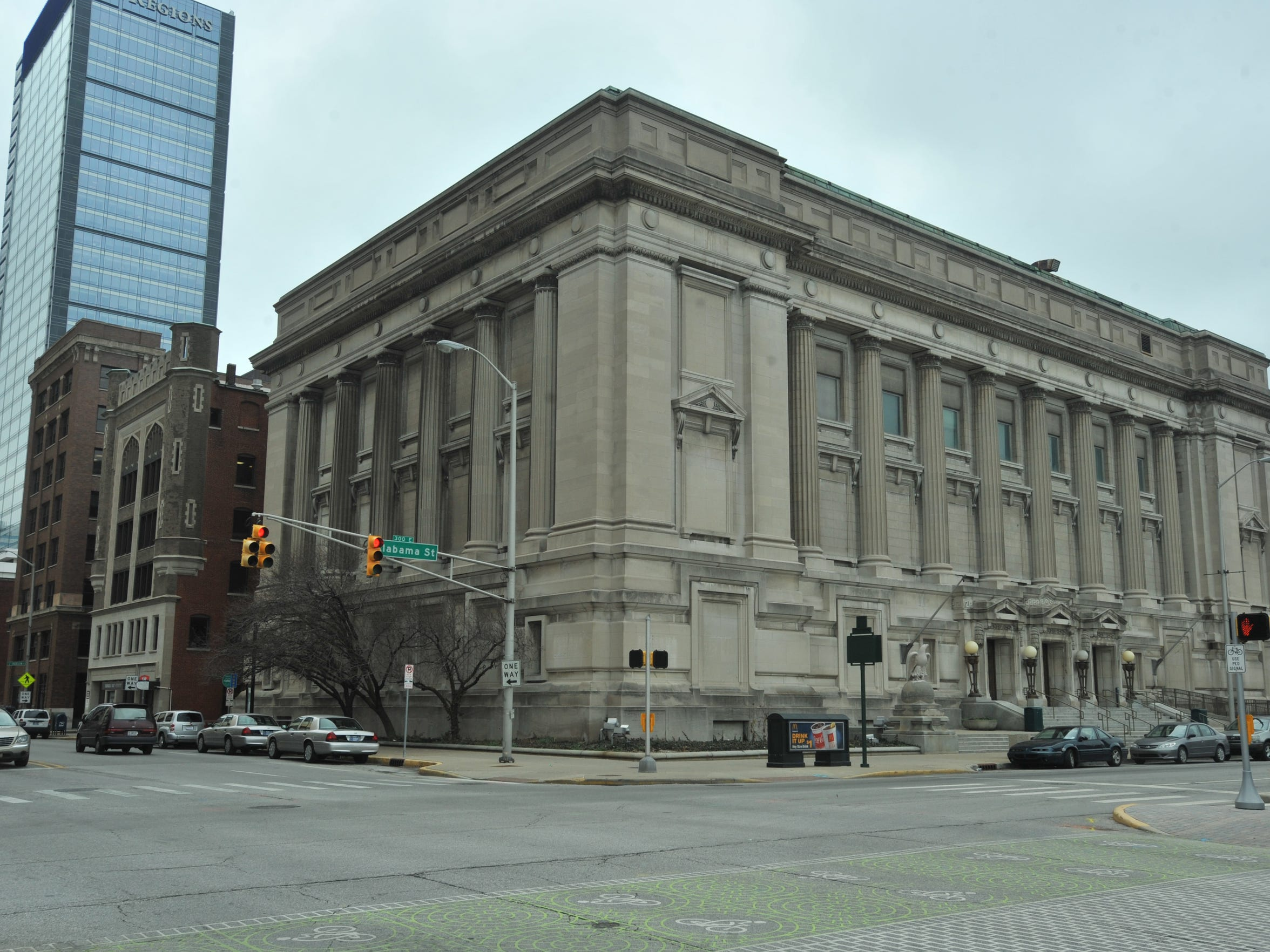Exterior of the former Indianapolis City Hall building