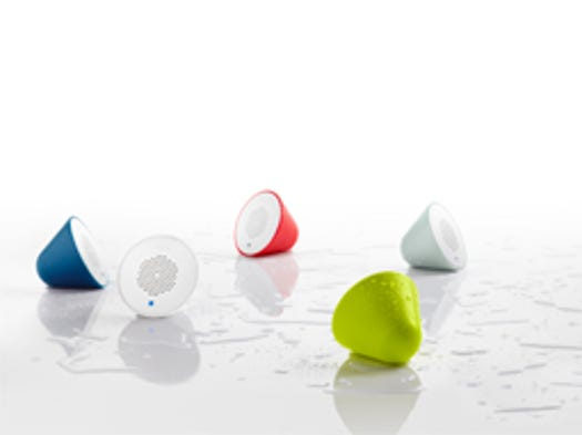 You don't have to wait for a major home renovation to make your bathroom routine a little more intelligent.Kohler's colorful Moxie line of wireless speakers, for instance, pop easily in and out of a shower head.
