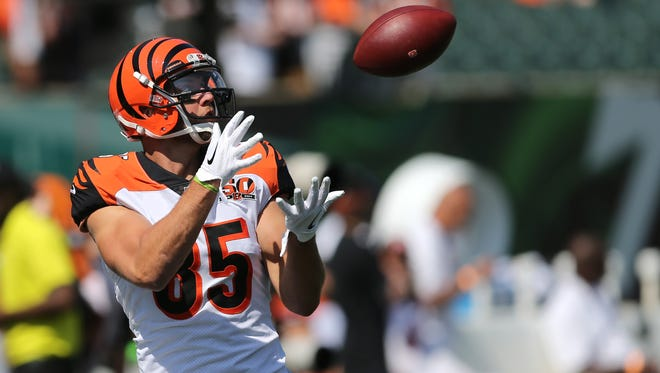 Cincinnati Bengals tight end Tyler Eifert says he's on schedule to participate fully in training camp.