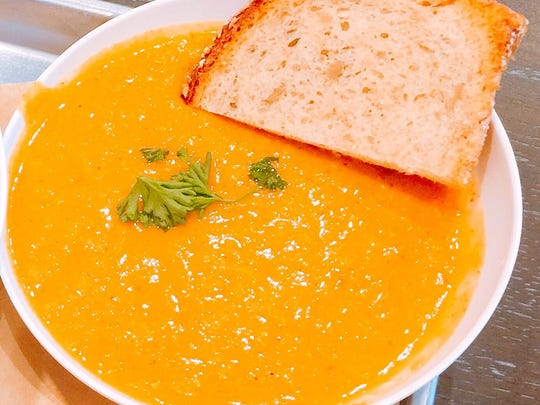 CoreLife Eatery's butternut squash soup.