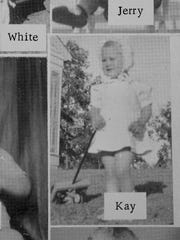 A baby photo of now Governor Kay Ivey in the 1963 Wilcox