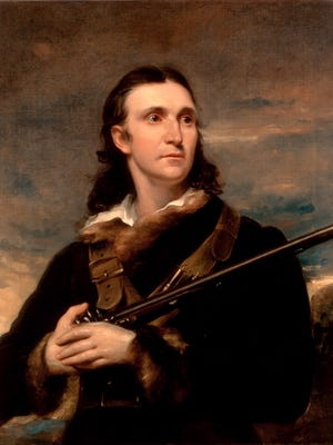 """Naturalist and painter John James Audubon worked as a taxidermist for Dr. Daniel Drake at the Western Museum in Cincinnati before embarking on painting North American birds for his multi-volume """"Birds of America."""""""