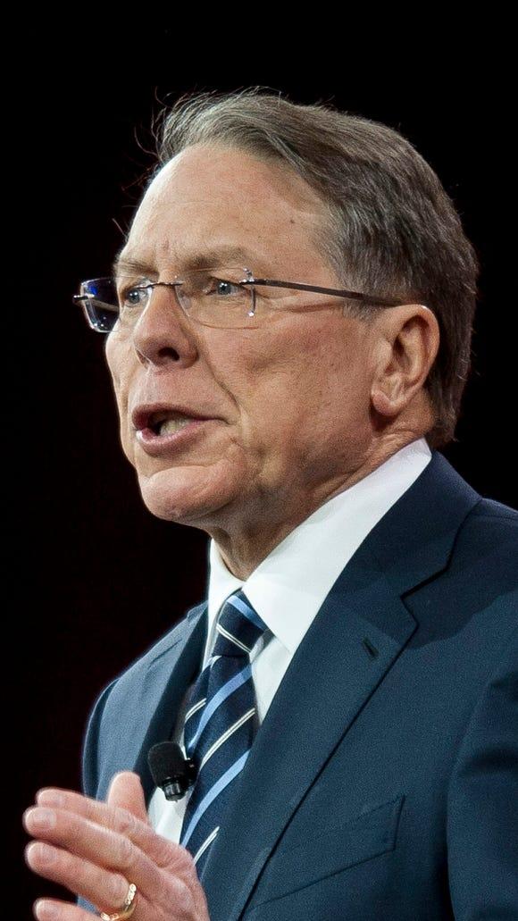 NRA Executive Vice President Wayne LaPierre addresses