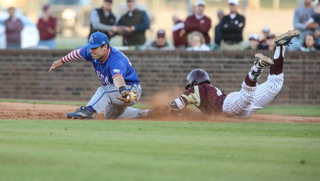 Tech first baseman Cody Daigle turned a 3-1 lead into a 7-1 rout with a three-run homer in the top of the ninth.