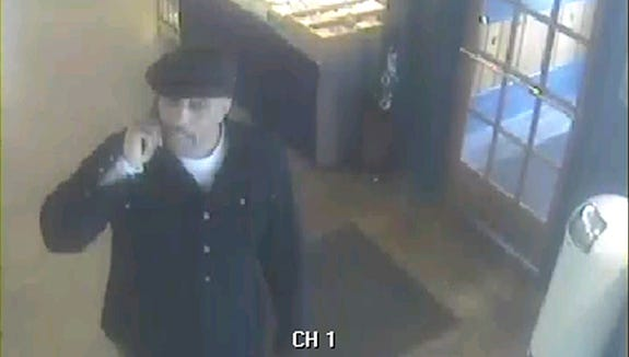 Police are seeking the identity of this man who is wanted for stealing a ring from an Oakley antique mall.