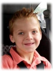 Brayden Otto, 7, died Sunday, Nov. 20, 2016.