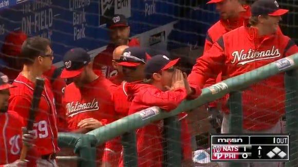 Max Scherzer hilariously trolled Phillies fans while celebrating Jayson Werth's home runs