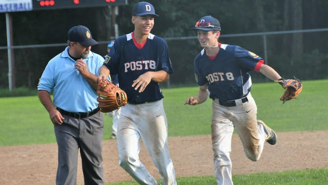David Picou, left, and JD Dalton will take to the field this summer for Dover's entry in the New Hampshire Covid Baseball League.