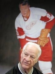 Former Detroit Red Wings great Gordie Howe.