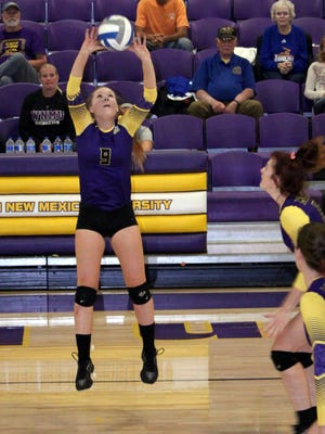 Western junior Melanie Hughes dished out 31 assists Friday in Lone Star Conference action.