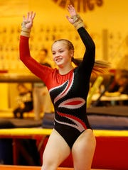 Lafayette Jeff junior Julie-Ann Stephany will compete on the vault in Saturday's state finals.