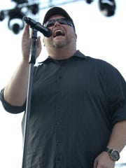 MercyMe vocalist Bart Millard, pictured at the Indiana