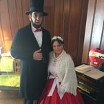 Valentine's Day tea: Museum hosts visit from Mary and Abraham Lincoln