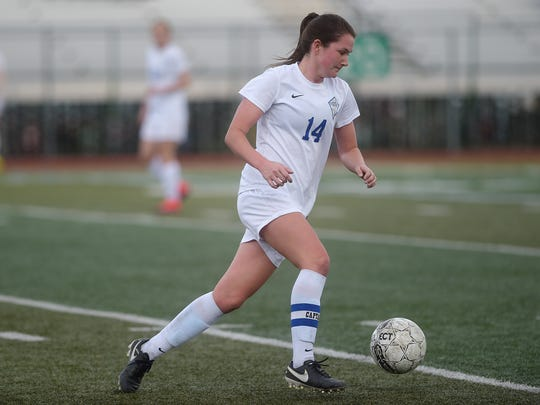 Poudre High School's Taylor Bee is committed to play college soccer at Iowa State.