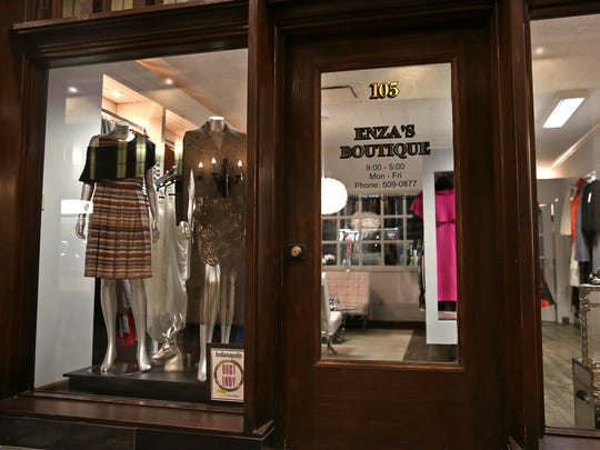 Enza's Boutique is in a new space at the Chamber of