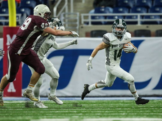 Grand Rapids West Catholic's Connor Bolthouse (14)