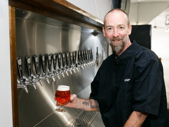 B2 Taphouse and Brewery owner Bryan Norris at B2's