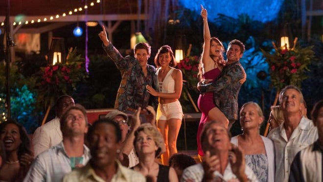 """Adam Devine, Aubrey Plaza, Anna Kendrick and Zac Efron star in the R-rated comedy """"Mike and Dave Need Wedding Dates."""""""