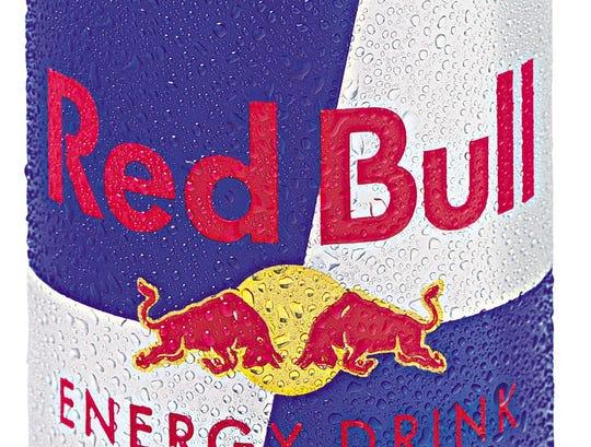 Redbull's famous energy drink.