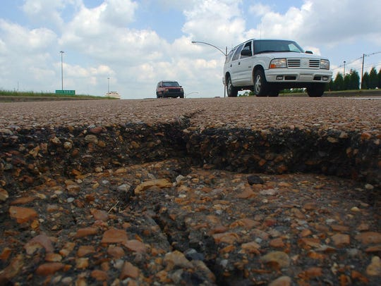 Potholes are the scourge of drivers in Jackson.