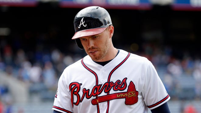 """Sure, I know it's tough,"" said Freddie Freeman. ""But I know what's coming. I know what the future holds for this organization. I'm fully on board."""