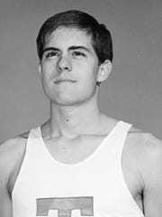 Bob Redington was an All-American in track and field