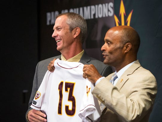 Arizona State Vice President of Athletics Ray Anderson