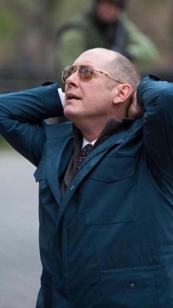 The Blacklist, James Spader as ex-government agent