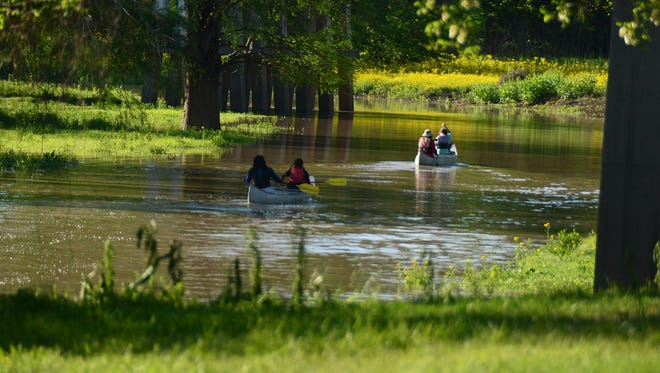 The Big Sunflower River in Mississippi is listed as the USA's most endangered river for 2018.