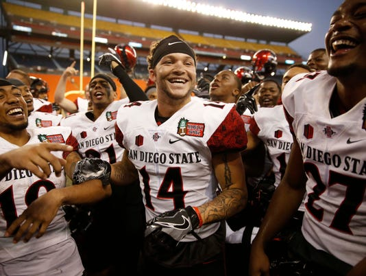 USP NCAA FOOTBALL: HAWAII BOWL-SAN DIEGO STATE VS S FBC USA HI