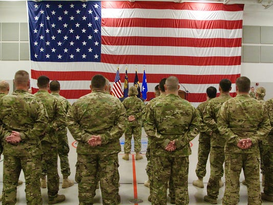 Oregon Army National Guard mobilizes citizen-soldiers for Middle East