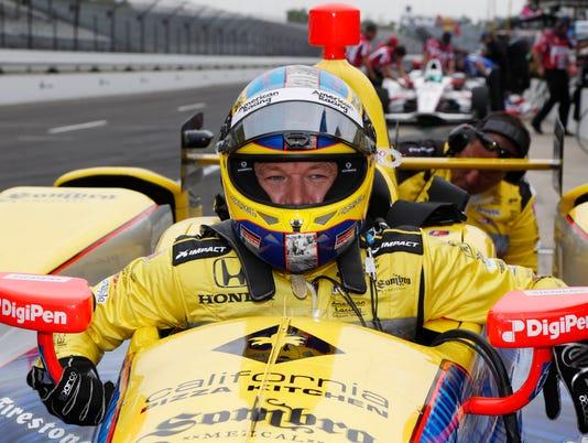 Indianapolis 500-Practice